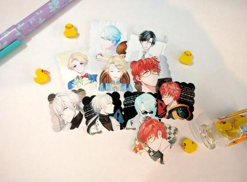 set de 10 stickers mystic messenger anime 707 zen yoosung