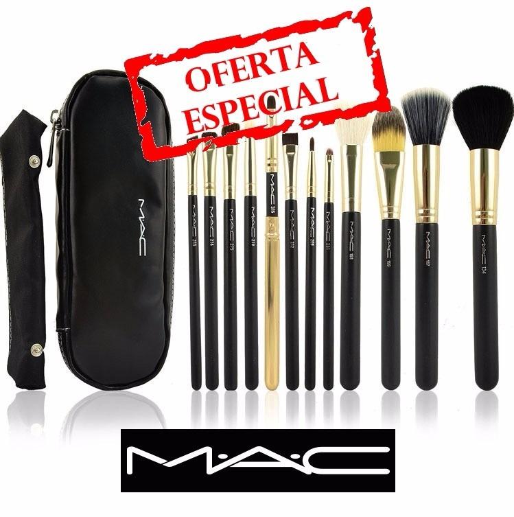 7c33bbb24 Set De 12 Brochas Mac Para Maquillaje Profesional - S/ 89,90 en ...
