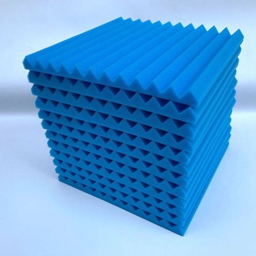 set de 12 paneles acústica de espuma