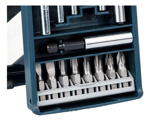 set de 15 piezas bosch x-line maletin mechas y puntas