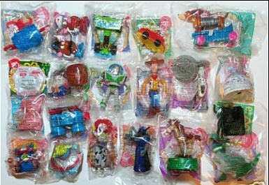 Set De 18 Juguetes Toy Story Peli 2 De Mc Donalds - $ 2500.00 En Mercado Libre