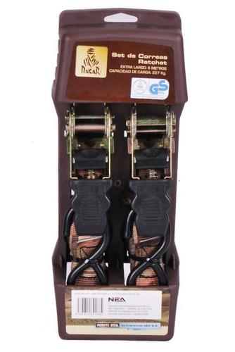 set de 2 eslingas para amarre y carga dakar venta ofertas