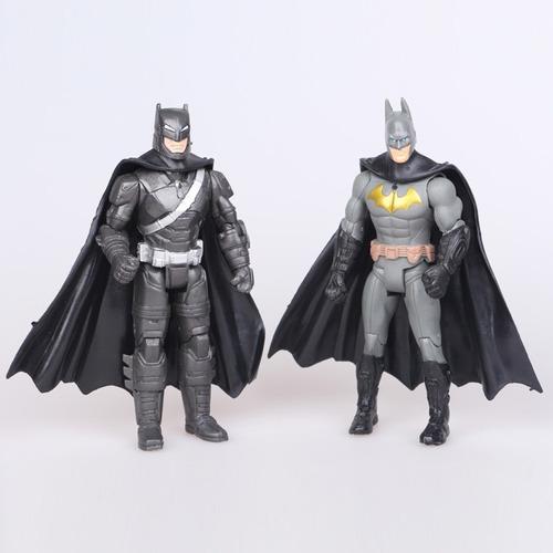set de 2 figuras accion batman   15cm,
