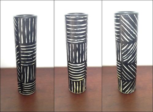 set de 2 jarrones decorativos ecológicos