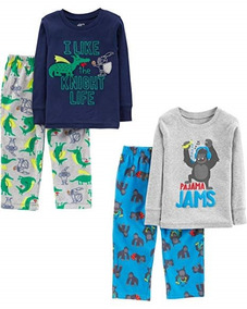 a9f18b34bd Set De 2 Pijamas De Dormir Calientitas Niños 2 Marca Carters