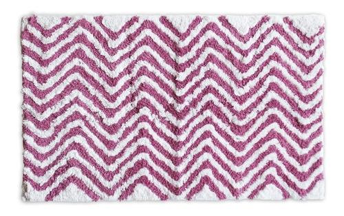 set de 2 tapetes de baño cotton peaks rosa