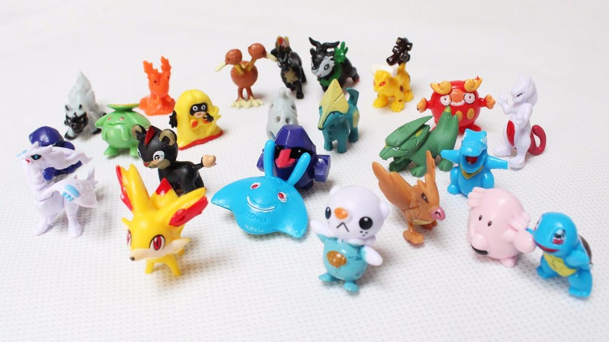 Set De 24 Figuras Coleccionables Pokemon -   5.000 en Mercado Libre 62d31fb3529