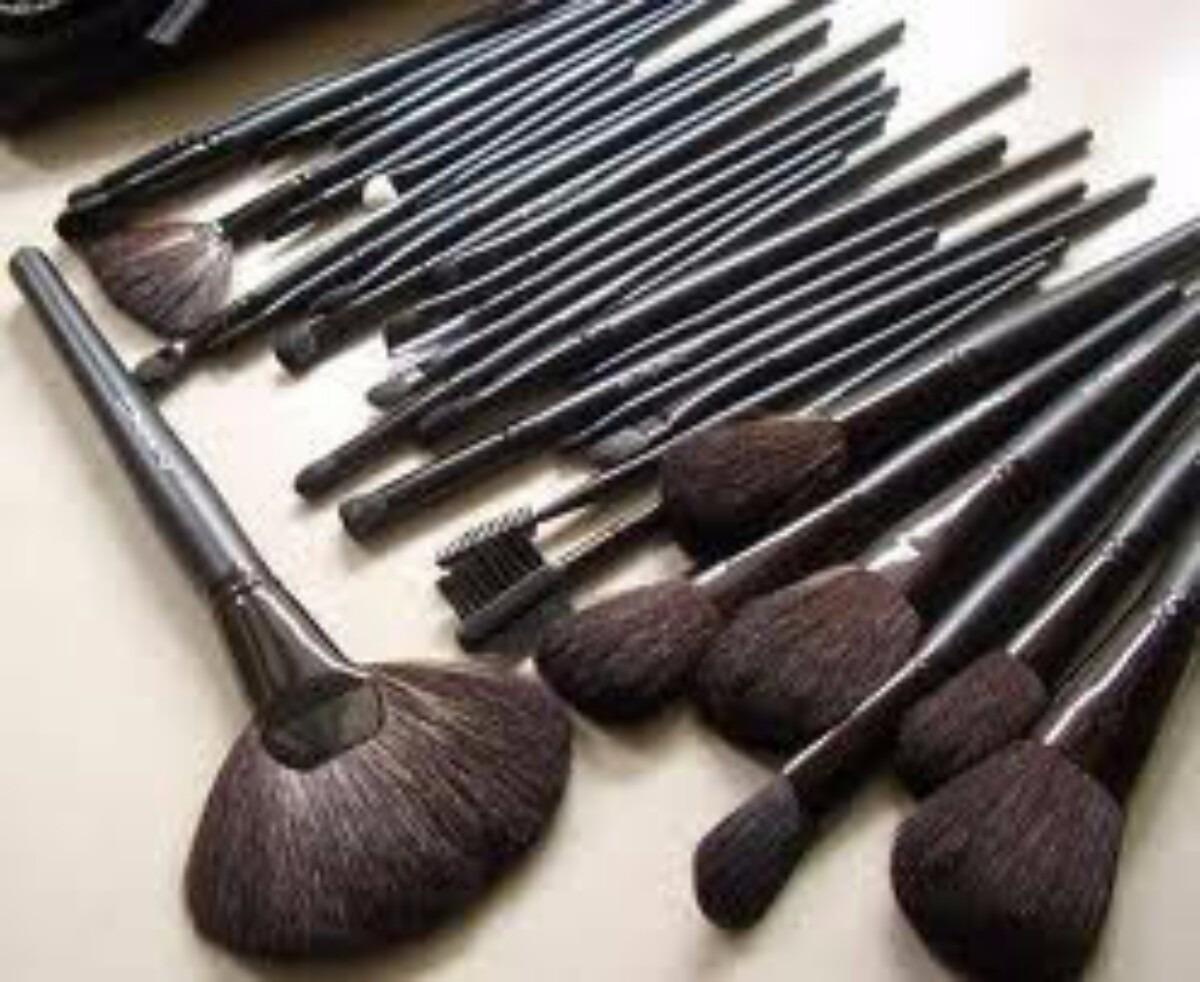 set de brochas de maquillaje profesional