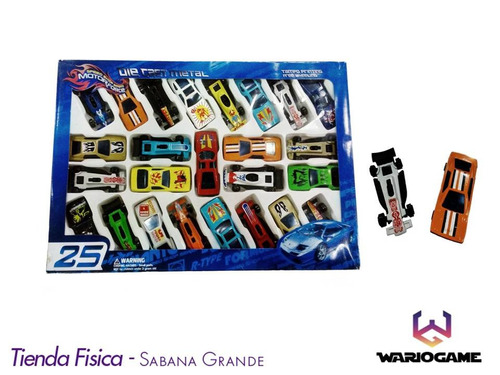 set de 25 carros de juguete para niños somos tienda