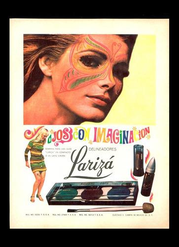 set de 3 anuncios publicitarios sicodelicos 1970s