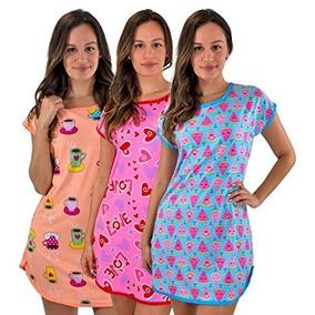 mejor servicio 901d0 380ae Set De 3 Batas De Pijama Para Dormir De Mujer Talla Xl.