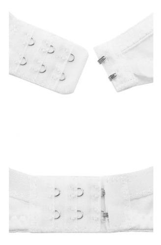 set de 3 brassieres de algodón de maternidad con amplia ventana para lactancia y amamantar sin varilla fresco y suave