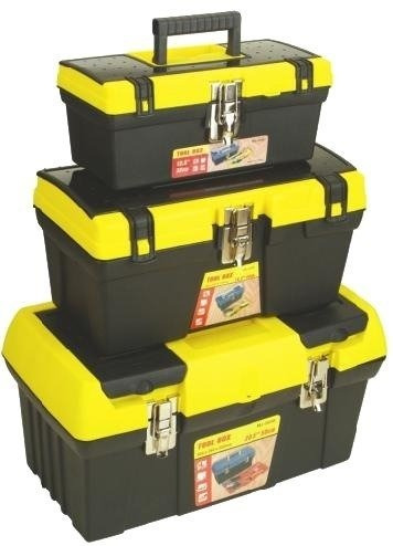 set de 3 cajas de herramientas kld2129