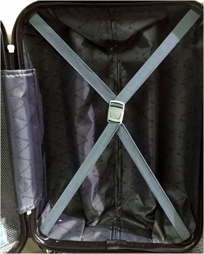set de 3 maletas grande , mediana y pequena - azul