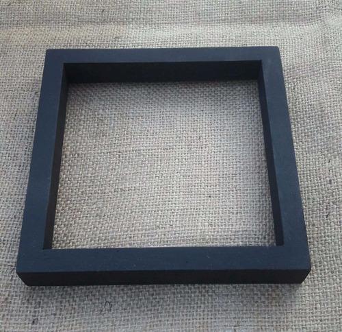 set de 3 marcos pintados  tipo box    15x15   20x20   25x25