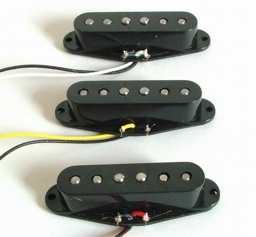 set de 3 microfonos belcat bs01 singles para guitarra