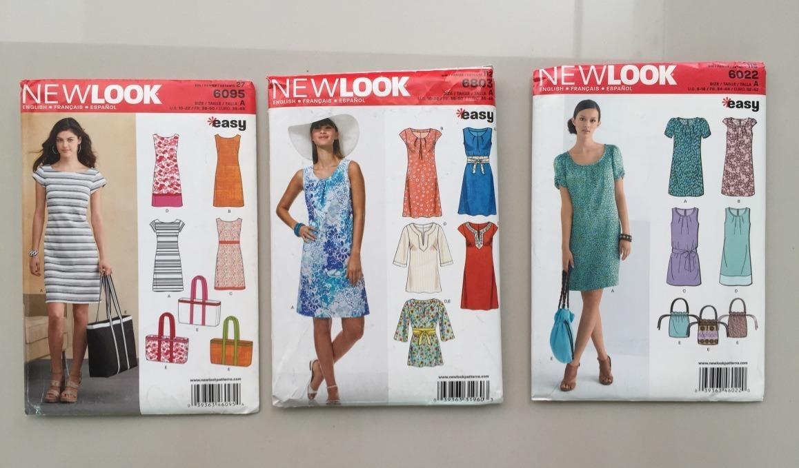 Nuevo patrones de costura