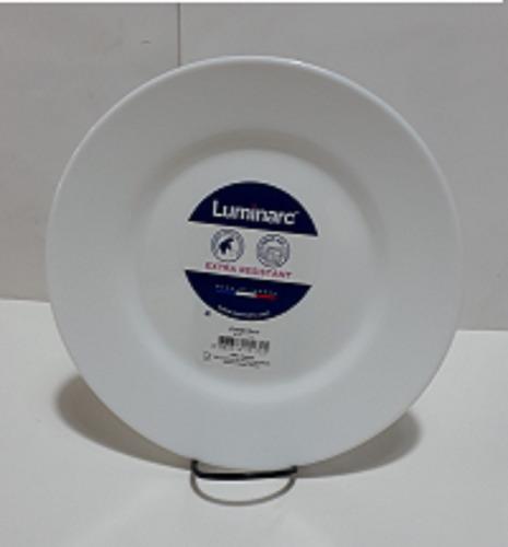 set de 3 platos  luminarc modelo everyday