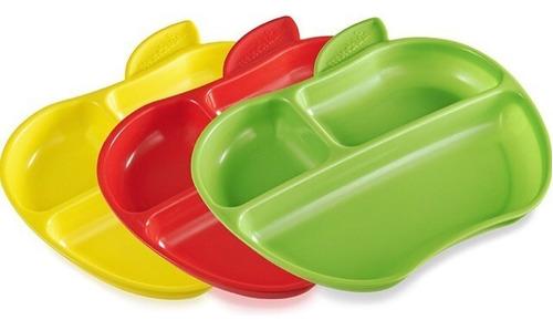 set de 3 platos munchkin para bebes y niños