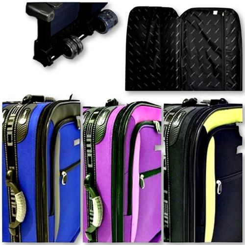 set de 3 valijas combinadas y refor. owen cuotas sin interes