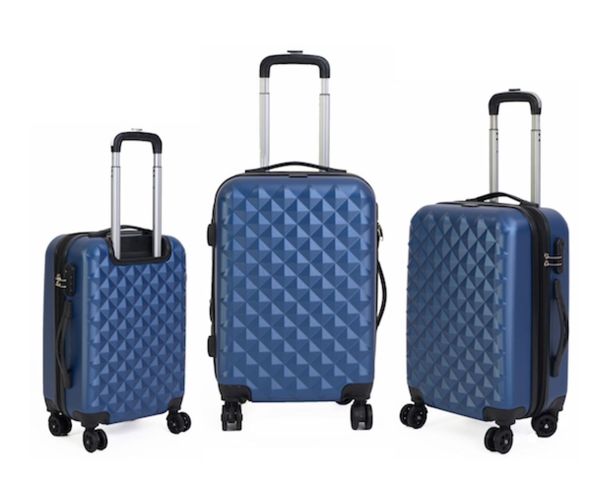 fbd214212 set de 3 valijas rígidas halcón 4 ruedas 360° expansible. Cargando zoom.
