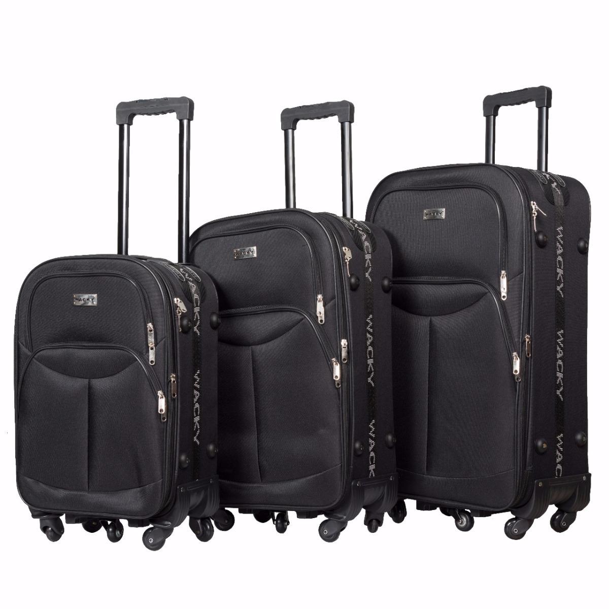 ed6cbf8e4 set de 3 valijas semi rigidas mod502 5 ruedas envio gratis. Cargando zoom.