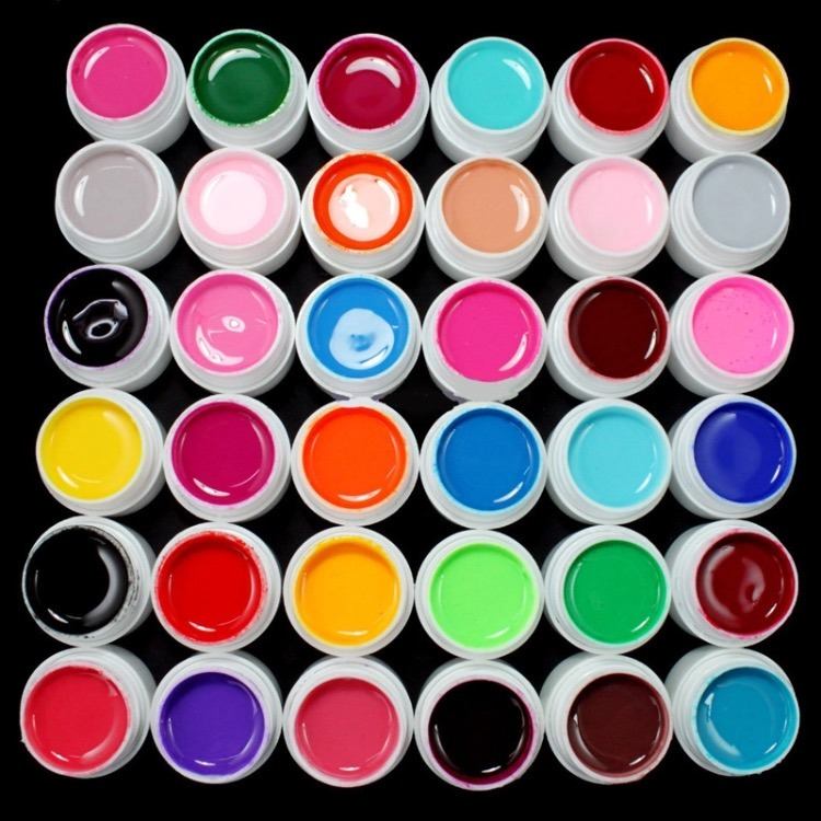 Set De 36 Geles De Color Para Uñas Gel Uv