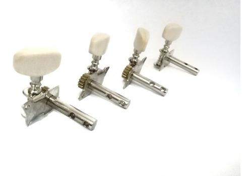 set de 4 clavijas para cuatro venezolano y bandola llanera