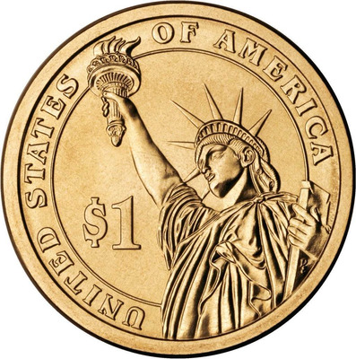 set de 4 monedas proof de usa coleccion presidencial dorada