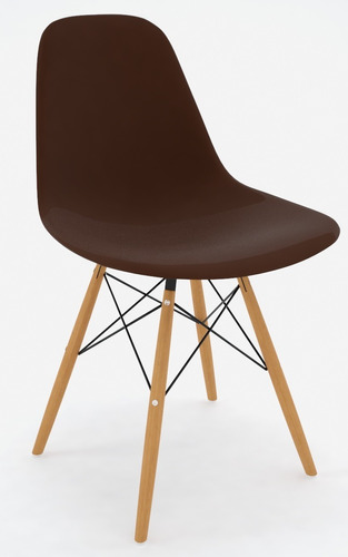 set de 4 sillas réplica eames - varios colores nuuk concept