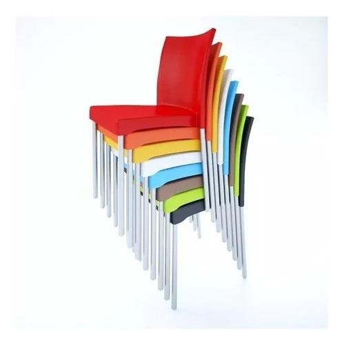 set de 4 sillas vivanti- varios colores