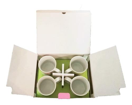 set de 4 tazas cute oneida