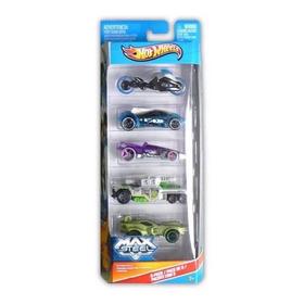 Set De 5 Carritos Hot Wheels Set