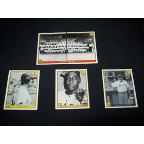 Set De 5 Cromos Panini Leones Del Caracas 50 Aniversario