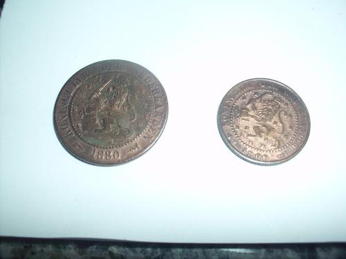 set de  5 moedas européias séculos 19 e 20-frete grátis