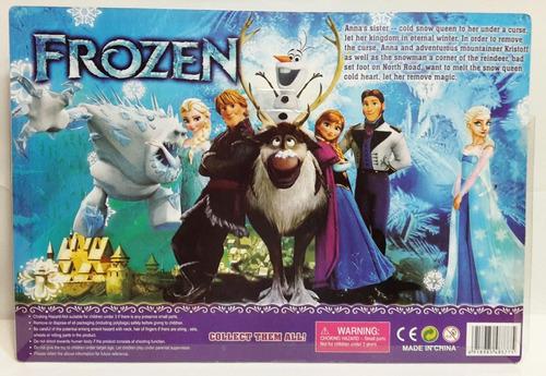set  de 6 figuras  de frozen juguete disney para niñas