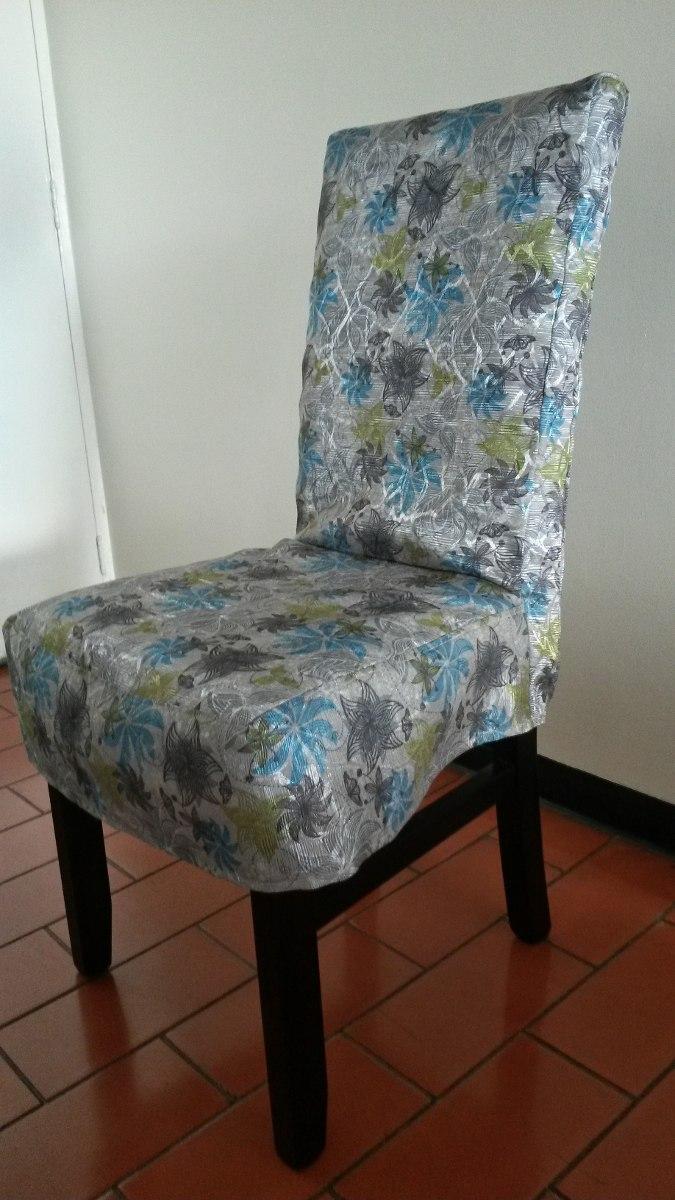 Set de 6 forros fundas protectores para sillas de - Sillas de forja para comedor ...