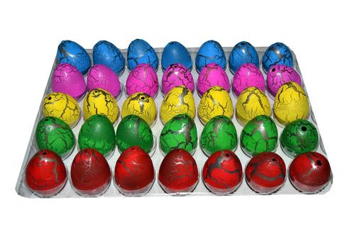 set de 6 huevos crecencios de dinosaurios pequeños