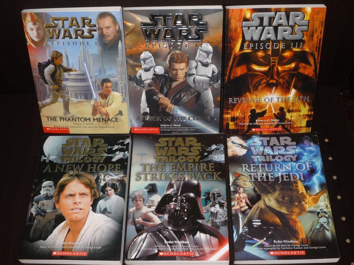 Set De 6 Libros De Star Wars - $ 750.00 En Mercado Libre @tataya.com.mx