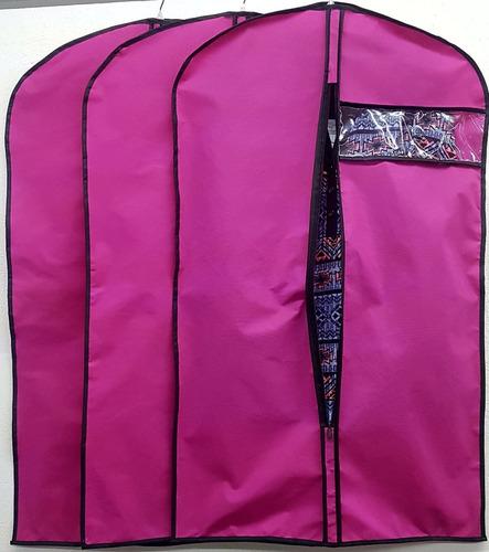 set de 6pz porta traje funda protectora para ropa