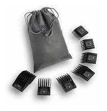 set de 7 guias plasticas oster para maquinas de peluqueria