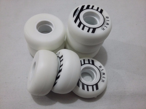 set de 8 ruedas black profesionales para patines agresivos