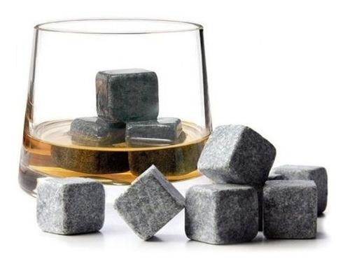 set de 9 rocas para whisky stones sustituto de hielo