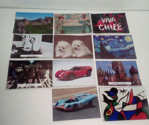 set de 96 imanes imágenes a elegir / runn