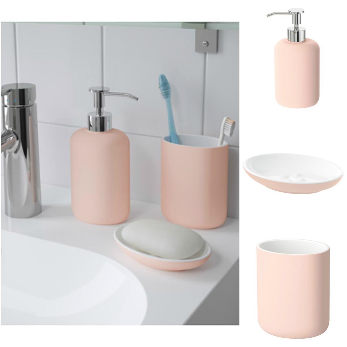 set de accesorios de baño ekoln rosa ikea suecia. Cargando zoom. eb8e6b7f7a6c