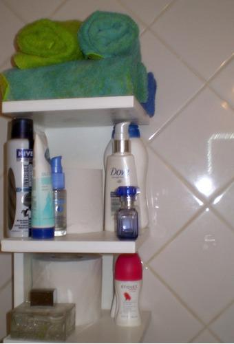 set de accesorios de baño toallero, organizador de baño