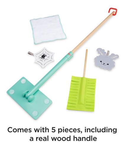 set de accesorios de limpieza de juguete fisher price