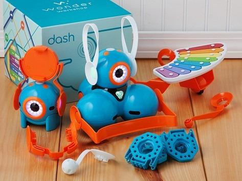set de accesorios para dash&dot de wonder workshop