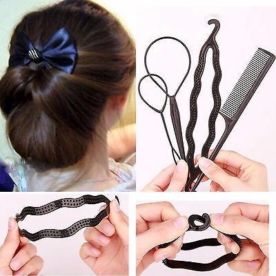 Instrucciones accesorios para hacer peinados Galería de cortes de pelo Consejos - Set De Accesorios Para Hacer Peinados-hair Loop - S/ 8,00 ...
