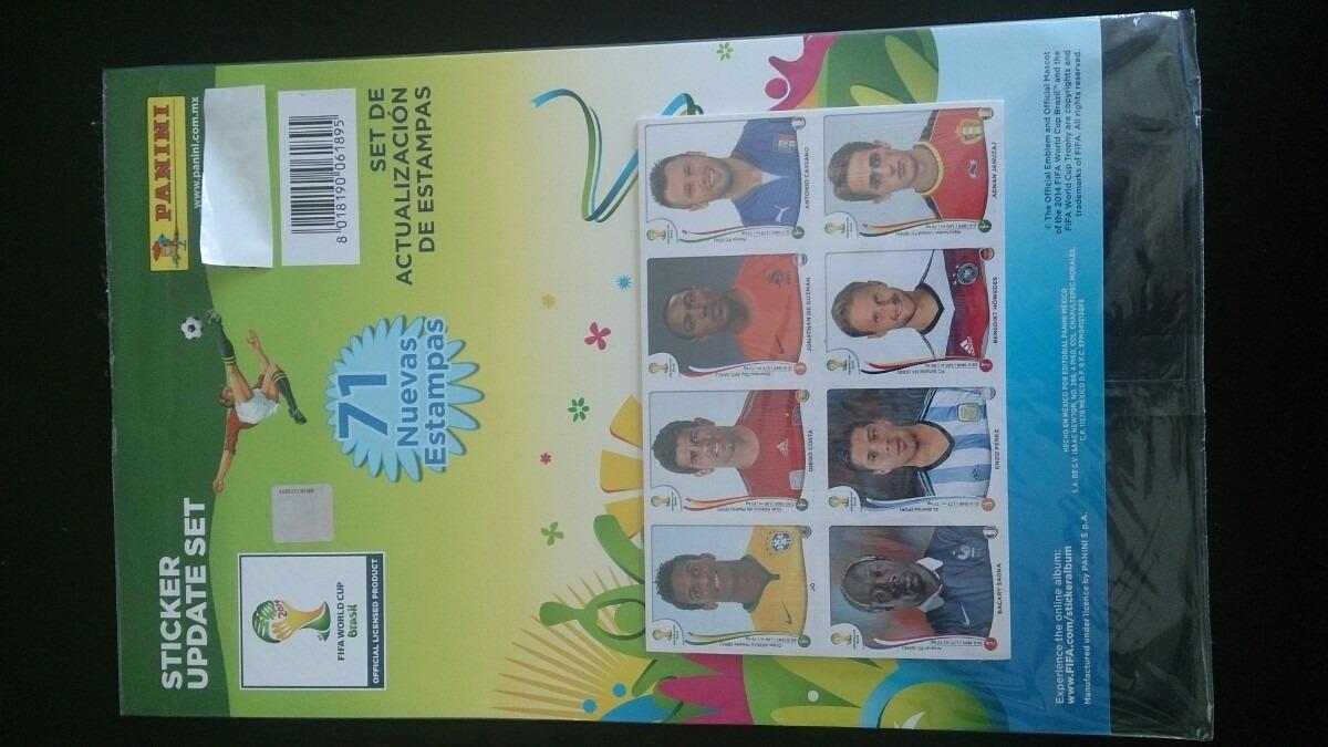 Set De Actualización De Estampas Panini Brasil 2014 - $ 280.00 en ...